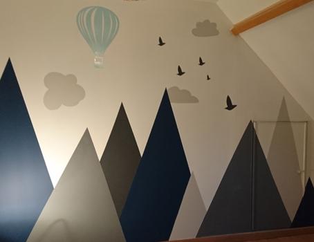 Peinture murale et décoration murale à Lille