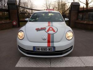 Flocage sur auto-école à Lille