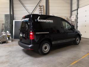 Flocage sur véhicule germonprez à Lille