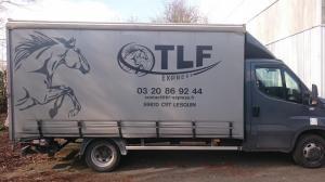 Flocage sur poids-lourd tlf à Lille