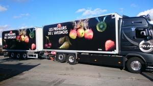 Flocage sur poids-lourd primeurs à Lille