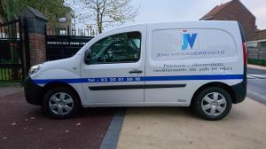 Flocage sur utilitaire à Lille