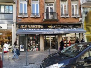 Enseigne publicitaire store à Lille