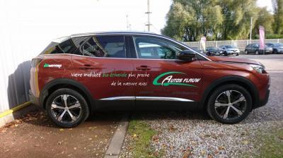Flocage sur véhicule léger à Lille