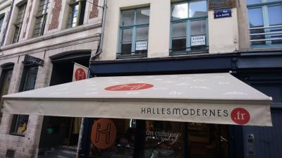 Peinture sur store à Lille